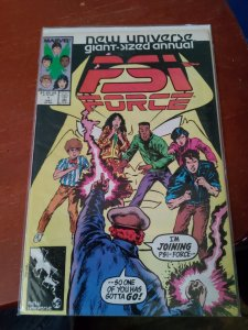 Psi-Force Annual #1 (1987)