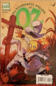 THE WONDERFUL WIZARD OF OZ #1 1:15 VARIANT & ROAD TO OZ #4 MARVEL NM.