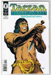 TARZAN #10, NM, Edgar Rice Burroughs, Legion of Hate, 1996, more in store