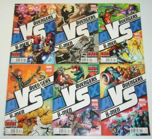 AvX: VS #1-6 VF/NM complete series - avengers vs x-men - marvel comics set lot