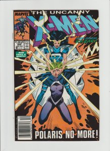 Uncanny X-Men #250 Nice VF 7.5/8.0 Newsstand Variant!!