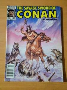 Savage Sword of Conan The Barbarian #136 ~ VF NEAR MINT NM ~ 1987 Marvel Comics