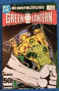 Green Lantern #199 (Apr, 1986) NM- 9.2 DC Comics, He's Back!!