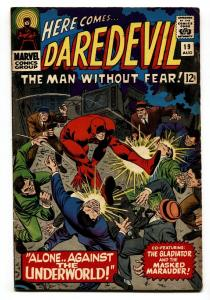 DAREDEVIL #19 comic book 1966-MARVEL-JOHN ROMITA ART VG+