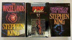 Stephen King lot all 3 different books 2 Softcovers + 1 Hardcover Years vary