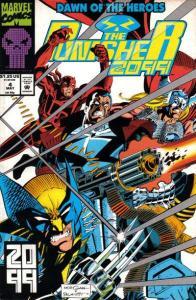Punisher 2099 (1993 series) #4, NM- (Stock photo)
