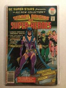 Dc Super-Stars 17 Very Good/Fine Vg/Fn 5.0 Huntress Dc Comics