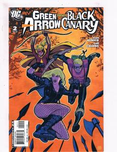 Green Arrow & Black Canary # 2 NM 1st Print DC Comic Book Justice League S61