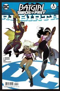 Batgirl & Birds of Prey Rebirth #1   9.4 NM