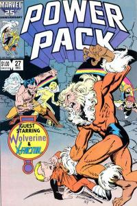 Power Pack (1984 series) #27, VF (Stock photo)