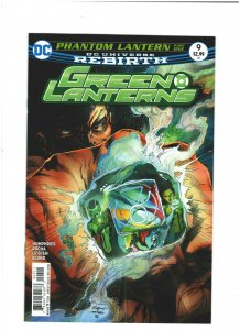 Green Lanterns #9 NM- 9.2 DC Comics Rebirth 2016 Simon Baz & Jessica Cruz