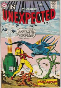 Tales of the Unexpected #69 (Mar-62) VF High-Grade Space Ranger, Cyrl