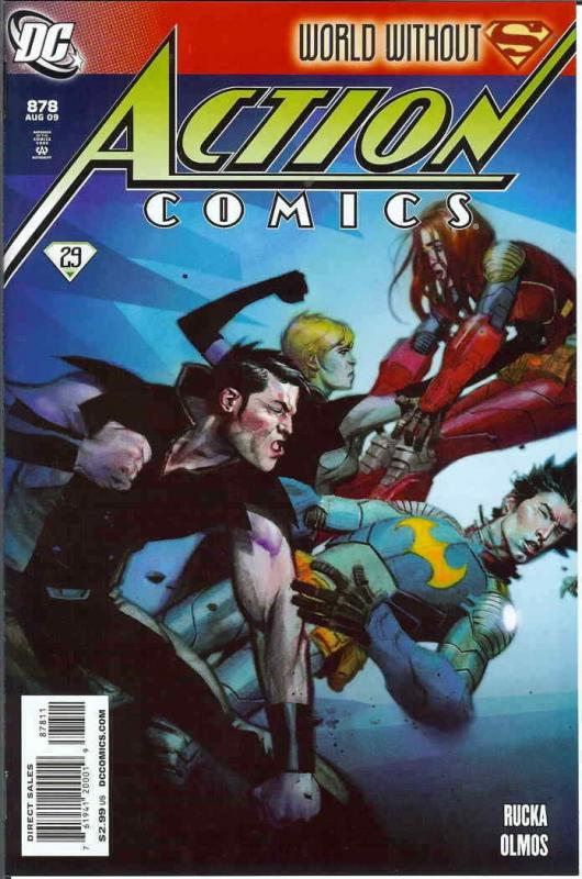 Action Comics #878 VF/NM; DC | save on shipping - details inside