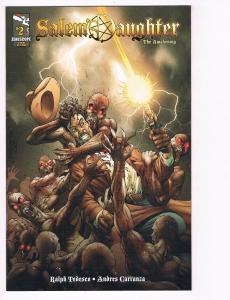 Salem's Daughter # 2 NM Zenescope Comic Books Anna Williams Darius Cover B S82