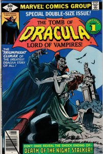 Tomb of Dracula 70 VF Final Issue Low print run