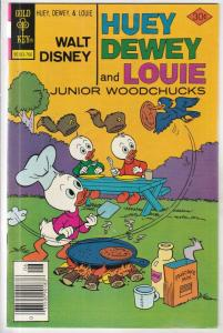 Huey Dewey and Louie Junior Woodchuks #44 (Jun-77) VF+ High-Grade Huey Dewey ...