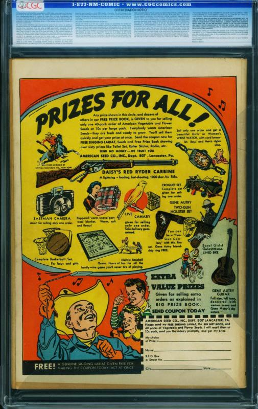 Jackpot Comics #4-1941-First cover appearance of ARCHIE cgc 3.5 ow/w 0267723001