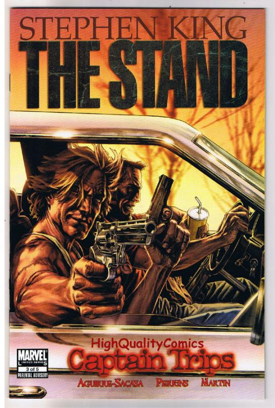 The STAND ; CAPTAIN TRIPS #3, Stephen King, 2008, NM+, more in store