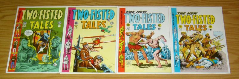 Two-Fisted Tales Portfolio - ec comics - kurtzman - wlly wood - severin - davis