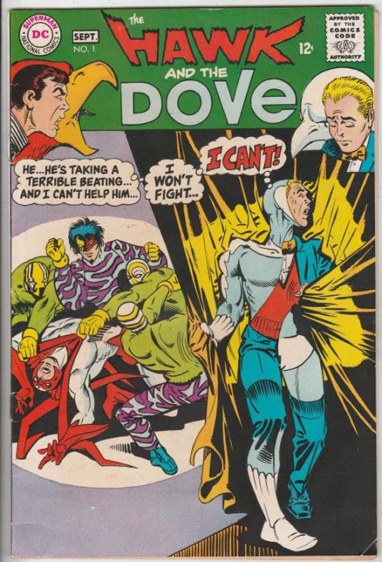 Hawk and the Dove, The #1 (Sep-68) VF+ High-Grade Hawk and Dove
