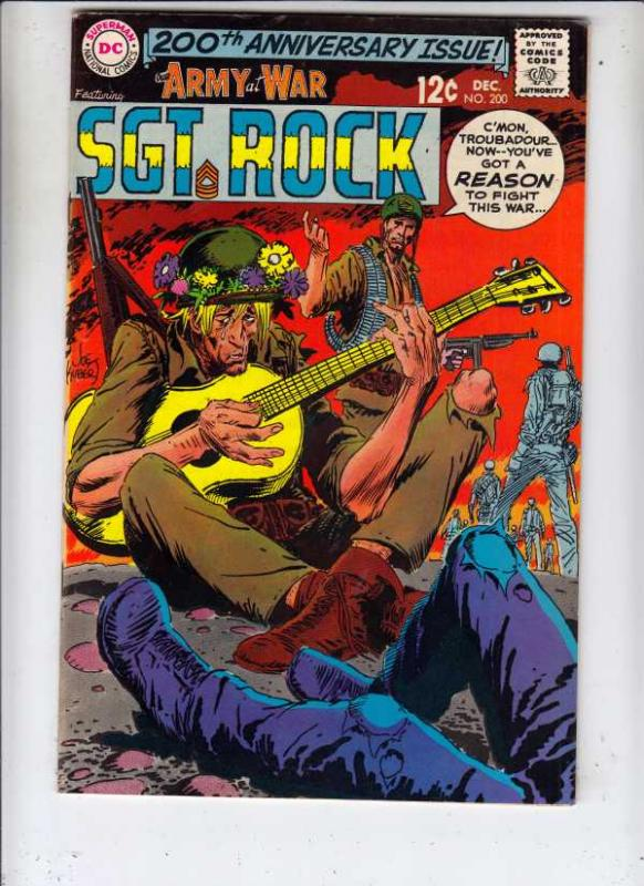 Our Army at War #200 (Dec-68) VF- High-Grade Easy Company, Sgt. Rock