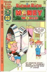 RICHIE RICH MONEY WORLD (1972-1982) 33 VF-NM Jan. 1978 COMICS BOOK