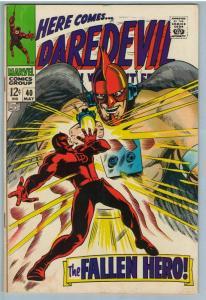 Daredevil 40 May 1968 FI- (5.5)