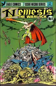 Eagle NEMESIS THE WARLOCK (1984 Series) #4 VF/NM