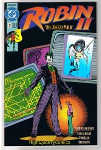 ROBIN II #1 2 3 4,  NM+, Joker, Batman, Arkham Asylum, Wild, more in store, 1-4