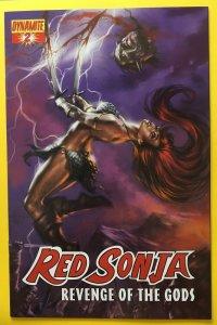 RED SONJA REVENGE OF THE GODS 2 PARRILLO COVER