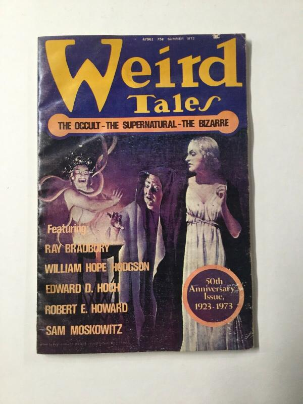 Weird Tales 1 2 3 4 Lot Volume 47 Water Damage