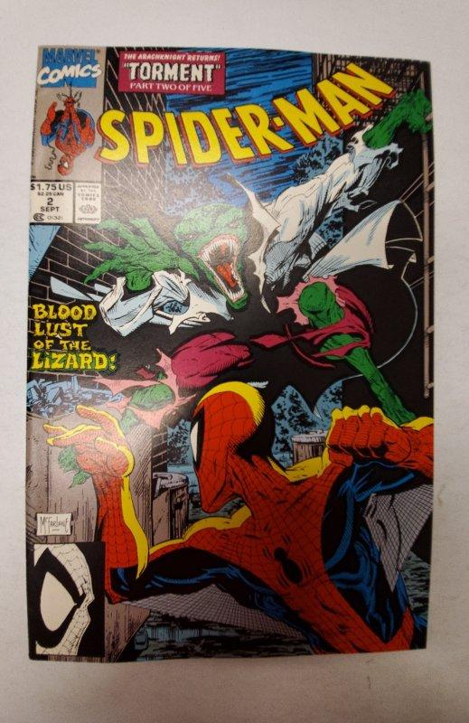 Spider-Man #2 (1990) NM Marvel Comic Book J667