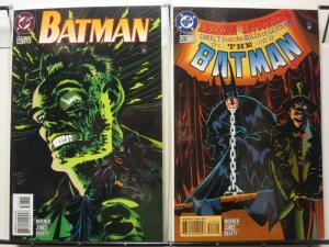 BATMAN 527-528  TWO-FACE  Kelly Jones