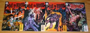 Out For Blood #1-4 VF/NM complete series KELLEY JONES steven grant vampires 2 3