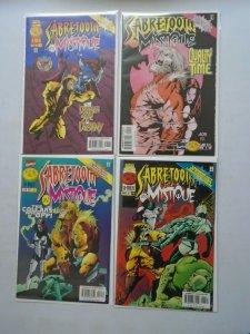 Sabretooth and Mystique set #1-4 6.0 FN (1996)