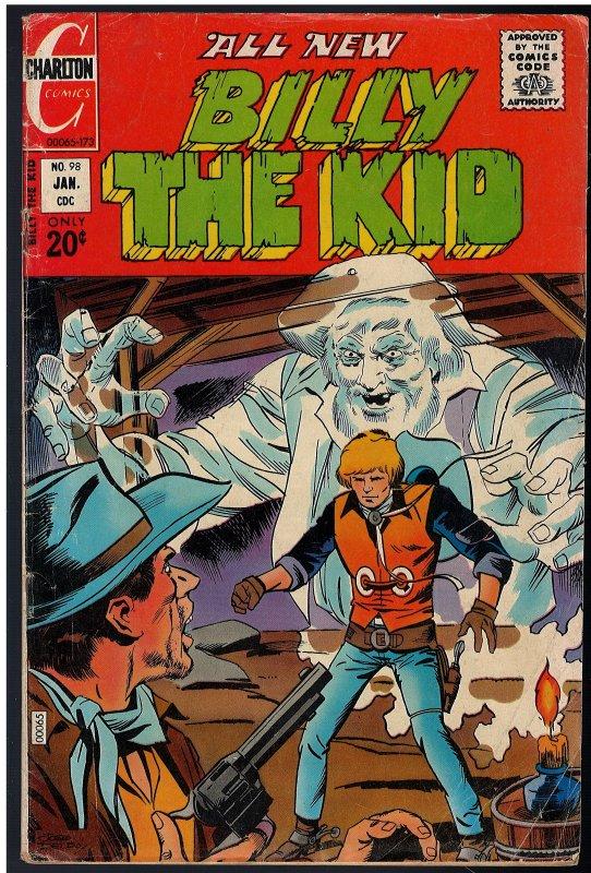 Billy the Kid #98 (Charlton, 1973)