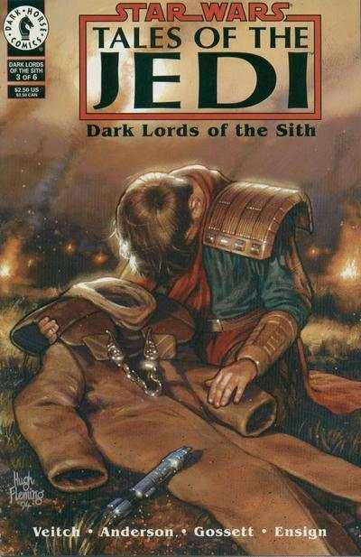 Star Wars: Tales of the Jedi-Dark Lords of the Sith #3, NM (Stock photo)