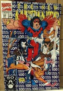 The New Mutants #100 NM