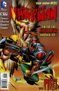 Savage Hawkman, The #12 VF/NM; DC | save on shipping - details inside