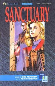 Sanctuary Part 5 #2 VF/NM; Viz | save on shipping - details inside