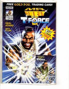 10 Indy Comics Mr. T Freejack Warriors Choke Experimentals Elemental + MORE J227