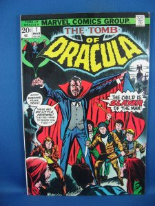 Tomb of Dracula #7 (Mar 1973, Marvel) VF