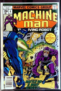 Machine Man #4 (1978)