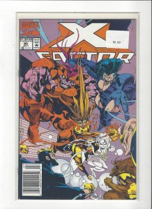 X-Factor #80 All New, All Different Peter David NM