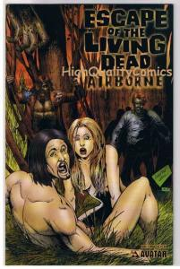 ESCAPE of the LIVING DEAD : AIRBORNE #2, NM, Zombies, 2006, more Horror in store