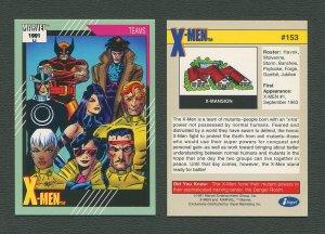 1991 Marvel Comics II  Card  #153 ( X-Men )  MINT