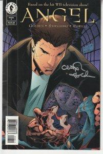 Autographed Angel(Dark Horse, vol. 1) #8 (No. C.O.A.)