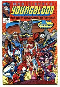 YOUNGBLOOD #1 First issue 1992-Image NM-