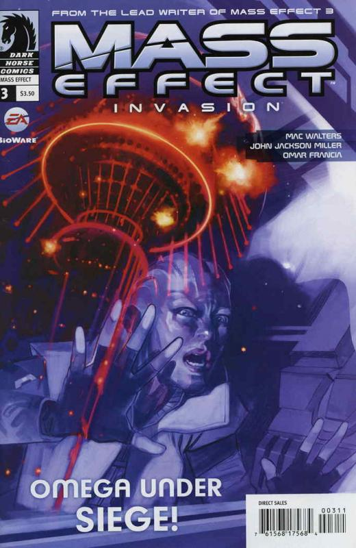 Mass Effect: Invasion #3 VF/NM; Dark Horse | save on shipping - details inside