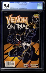 Venom: On Trial #1 CGC NM 9.4 White Pages